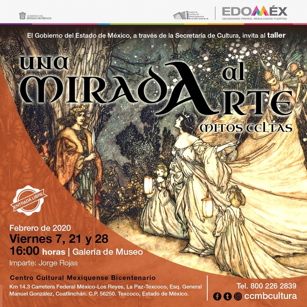 Imparten talleres de mitología griega, celta y nórdica en centro Cultural Mexiquense Bicentenario