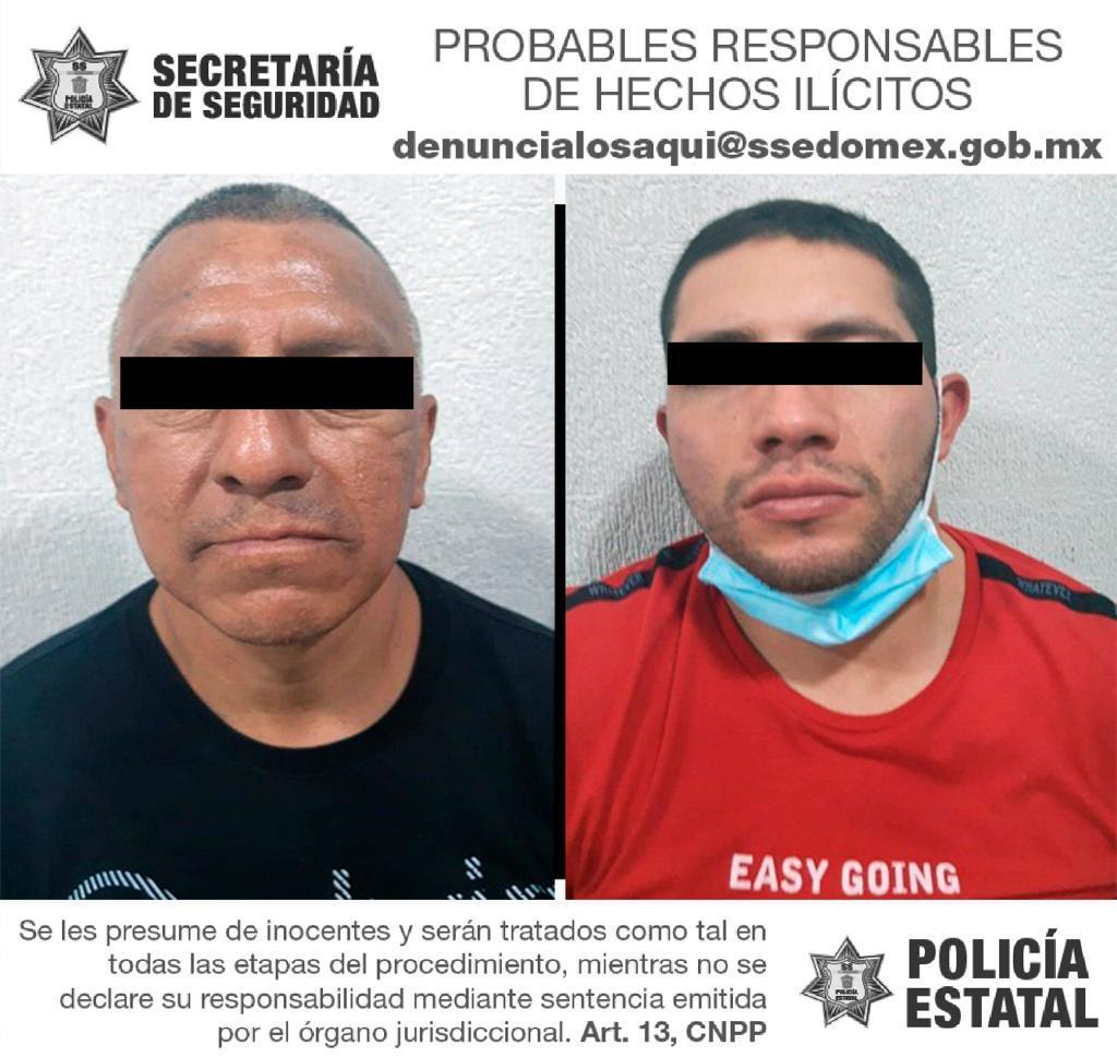 Detienen a dos hombres posibles responsables del delito de encubrimiento por receptación