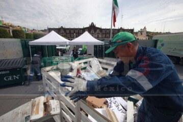 Llevan a cabo el reciclatón en la capital mexiquense.