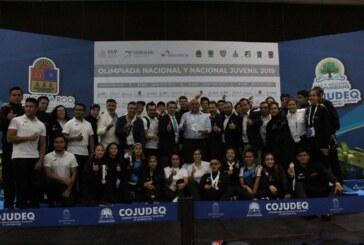 Suman taekwondoines mexiquenses 30 medallas en la olimpiada nacional y nacional juvenil 2019