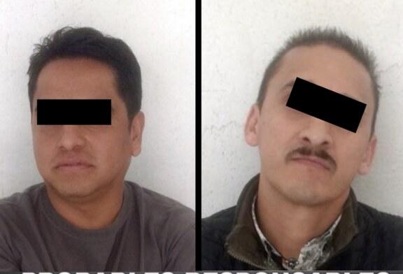 Detiene SSEM a dos personas relacionadas con delitos de robo con violencia