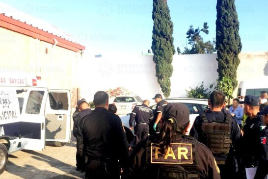 Frustran policías de la secretaría de seguridad asalto a cuentahabiente