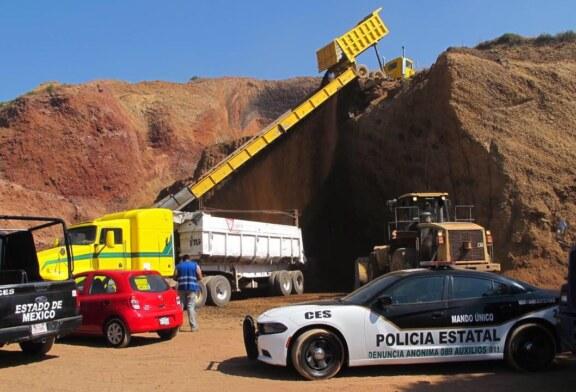 Clausura Propaem cinco minas en valle de México