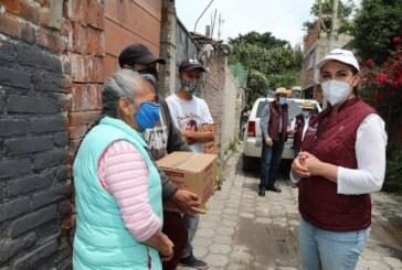 Renovados compromisos asume Gaby Gamboa con habitantes de Ocotlán