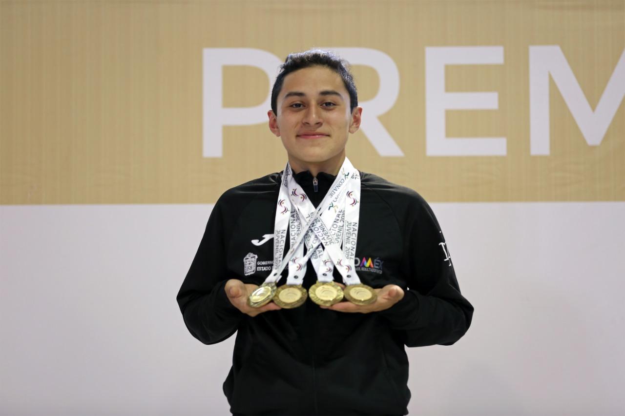 Consigue Edoméx triunfo en pentatlón del nacional juvenil 2019