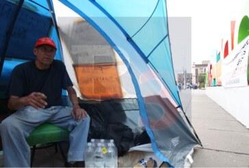 Hace huelga de hambre porque no quiso entrarle a la corrupción