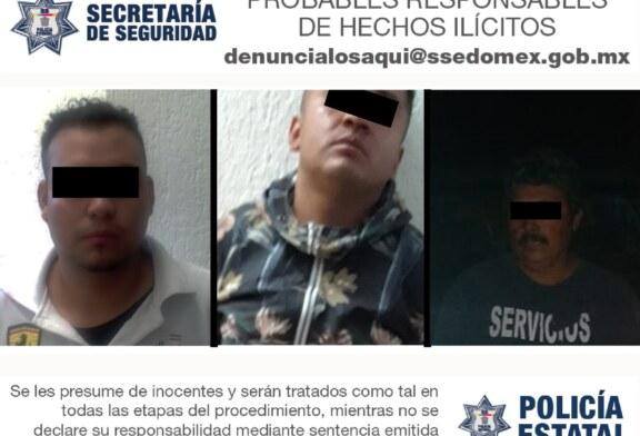 Aprehende secretaría de seguridad a probables asaltantes de peregrinos de Chalma