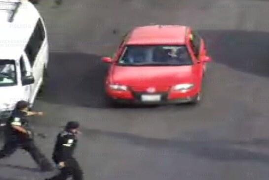 Tras una alerta del C5, elementos de la secretaría de seguridad recuperan un vehículo con reporte de robo y detienen a su conductor