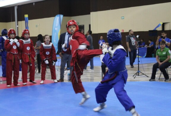 Suman mexiquenses 16 medallas en primera etapa del taekwondo de la olimpiada nacional 2019