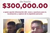 Ofrece fiscalía estatal una recompensa de hasta 300 mil pesos para localizar a dos jóvenes.