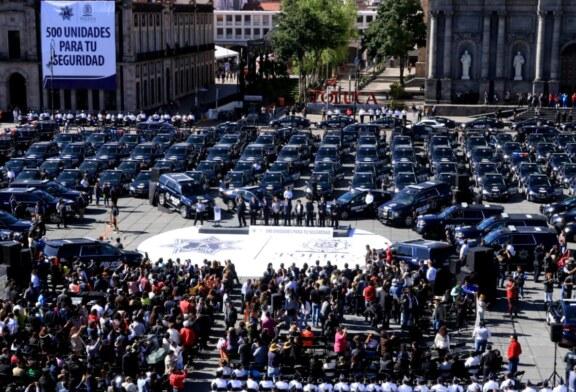 500 nuevas patrullas para tu seguridad: Juan Rodolfo