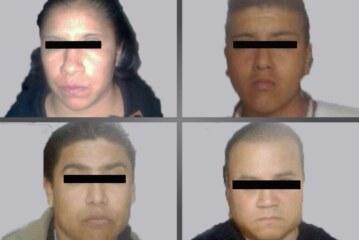 Detienen a cuatro personas con 10 kilogramos de droga en Cuautitlán Izcalli