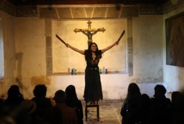 """Presentan monólogo """"por favor Cristo de Esquipulas"""" en miércoles culturales en el museo virreinal"""