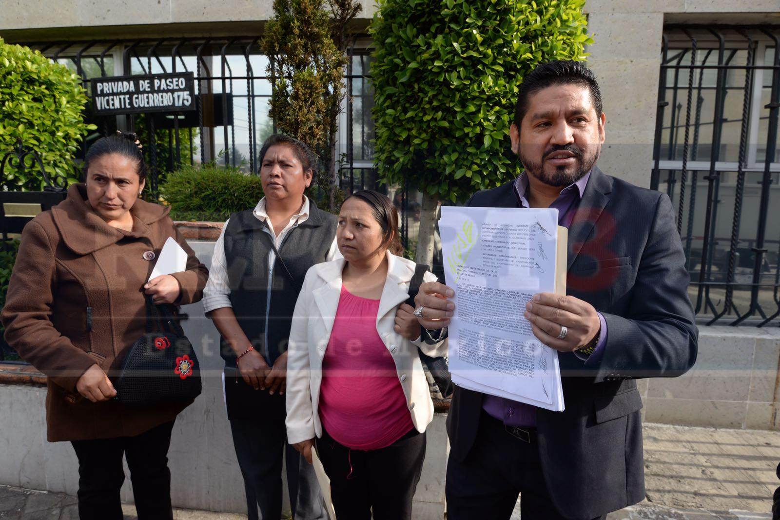 Regidores de Amanalco siguen sin ser restituidos