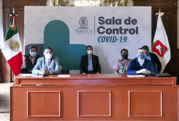 Toluca registra mil 239 casos de COVID-19, 73 defunciones confirmadas con pruebas y 282 por probable coronavirus.