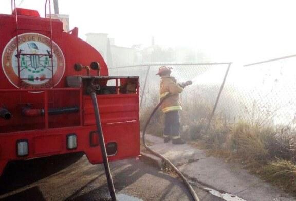 Alertan sobre riesgo de incendio de pastizales