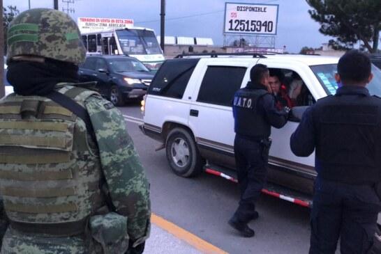 Deja operativo en Toluca y Metepec saldo de 42 detenidos