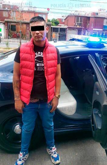 Policía estatal detiene a posible responsable del delito de robo a tienda de conveniencia