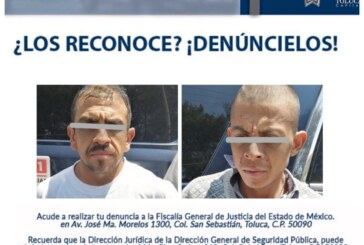 Policía Municipal detiene a dos presuntos delincuentes con sustancias ilícitas y armas punzo cortantes