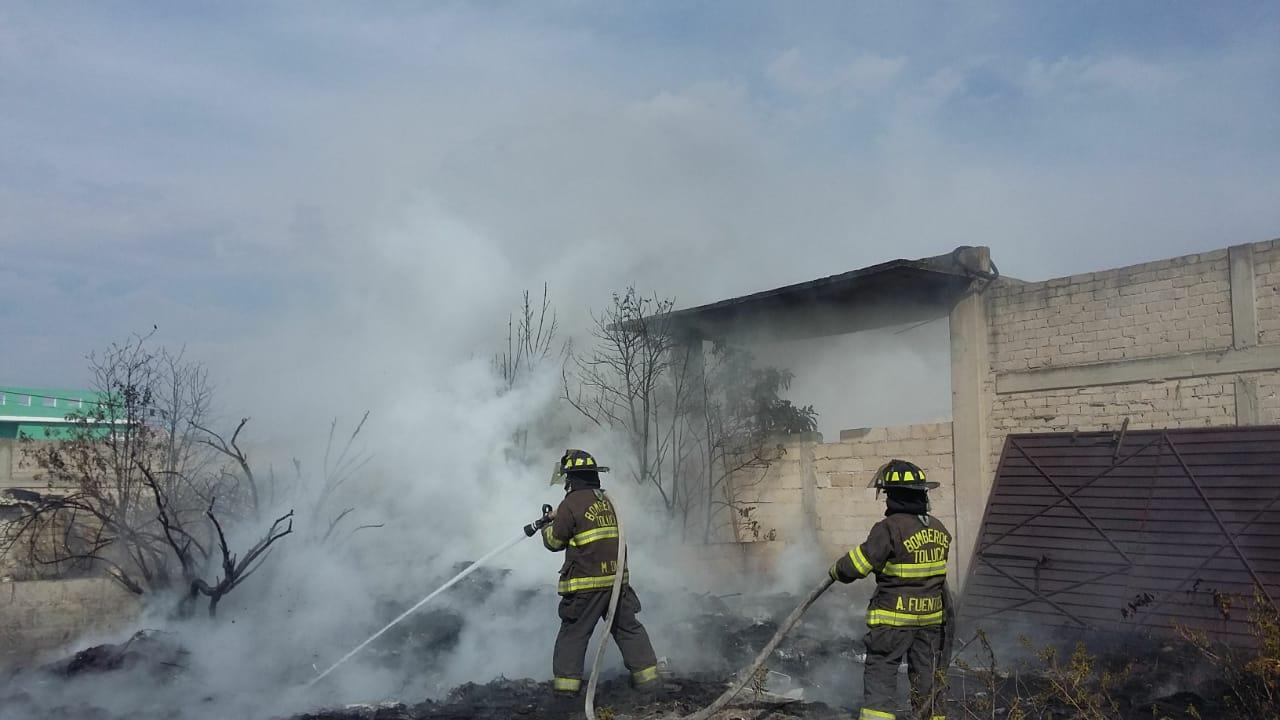 Anualmente, PC y Bomberos de Toluca atiende hasta 500 incendios de pastizales