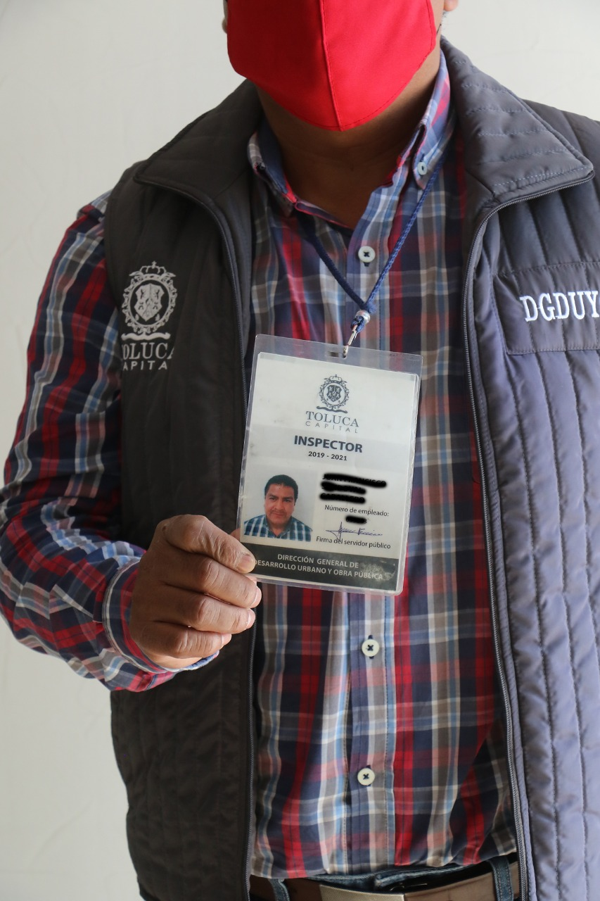 Piden autoridades de Toluca no dejarse engañar por supuestos verificadores de construcción