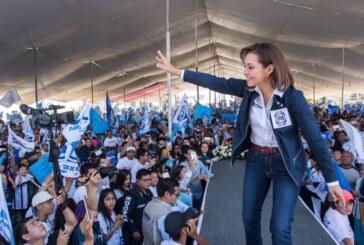 La ola azul ciudadana ganará la gubernatura del Estado de México: Josefina Vázquez Mota