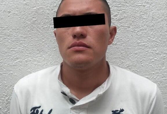 Detienen a presunto responsable del delito de abuso sexual en agravio de menor de edad