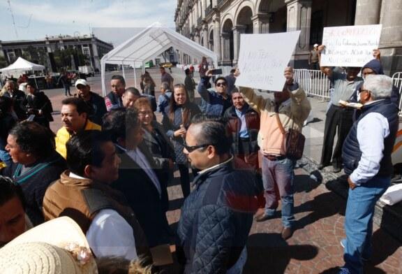 Alcaldes perredistas generan caos en Toluca