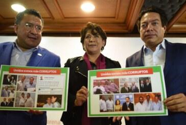 El PRI y el gobierno federal están llenos de fraudes.- Delfina Gómez