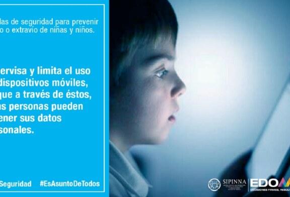 Convoca sipinna Edoméx a vigilar que menores usen redes sociales de forma segura y responsable
