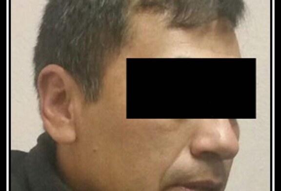 Información de inteligencia lleva a detención de un custodio con sustancia similar a la cocaína