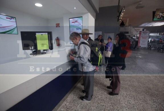 Se incrementa en un 30 por ciento la afluencia de turistas en la terminal