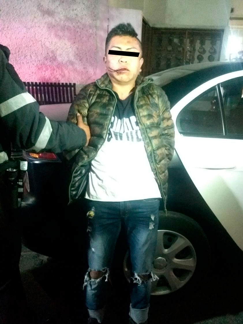 Policía Trabajando Para Ti da resultados; detienen a hombre por presunto robo y portación de arma de fuego
