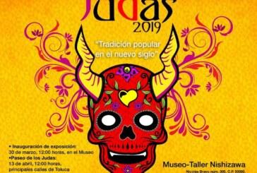 Comienzan preparativos para la tradicional quema de judas en la capital mexiquense