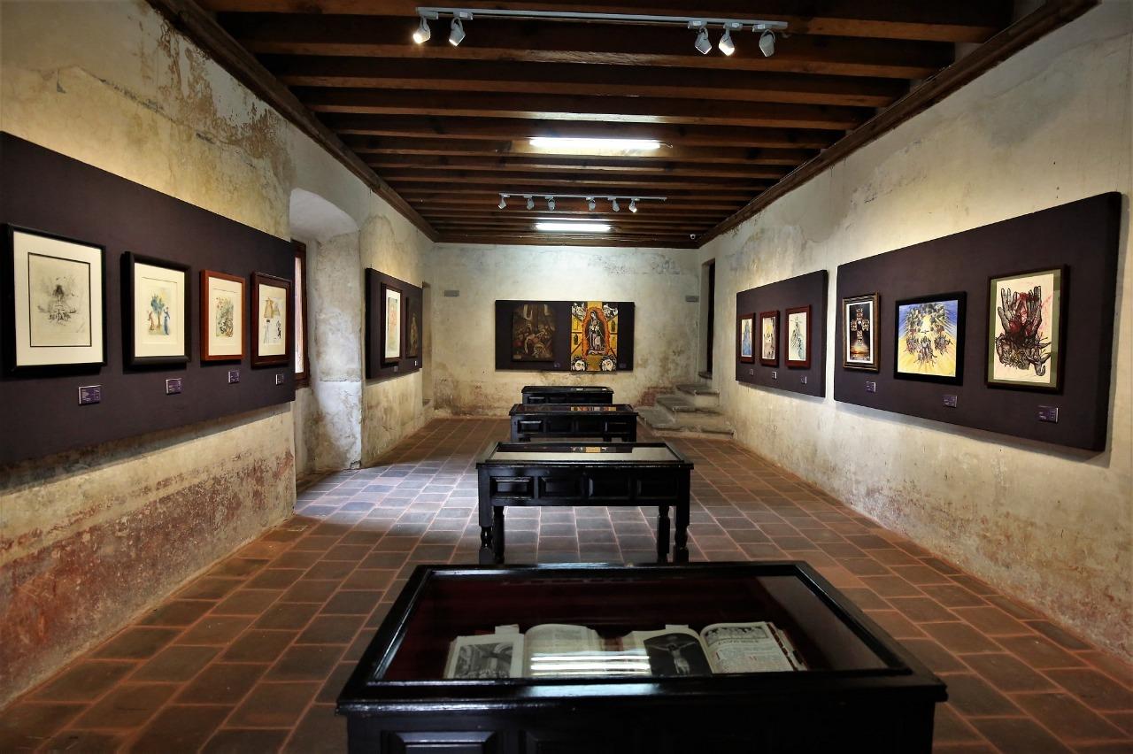 """Inauguran exposición """"Arte Devoto: obras del sigo XVI a lo contemporáneo"""" en museo virreinal"""