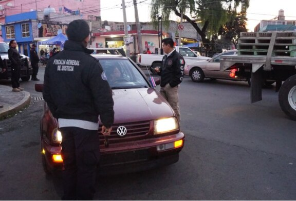 Detienen a 83 mediante operativo rastrillo en Toluca