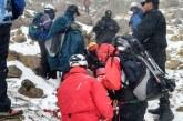 Concreta Cruz Roja Amecameca extracción de alpinista accidentado en el Iztaccíhuatl