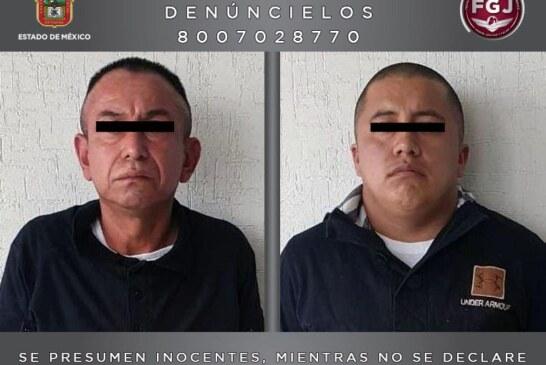 Procesan a dos sujetos investigados por la privación de la libertad de un regidor en Valle de Chalco