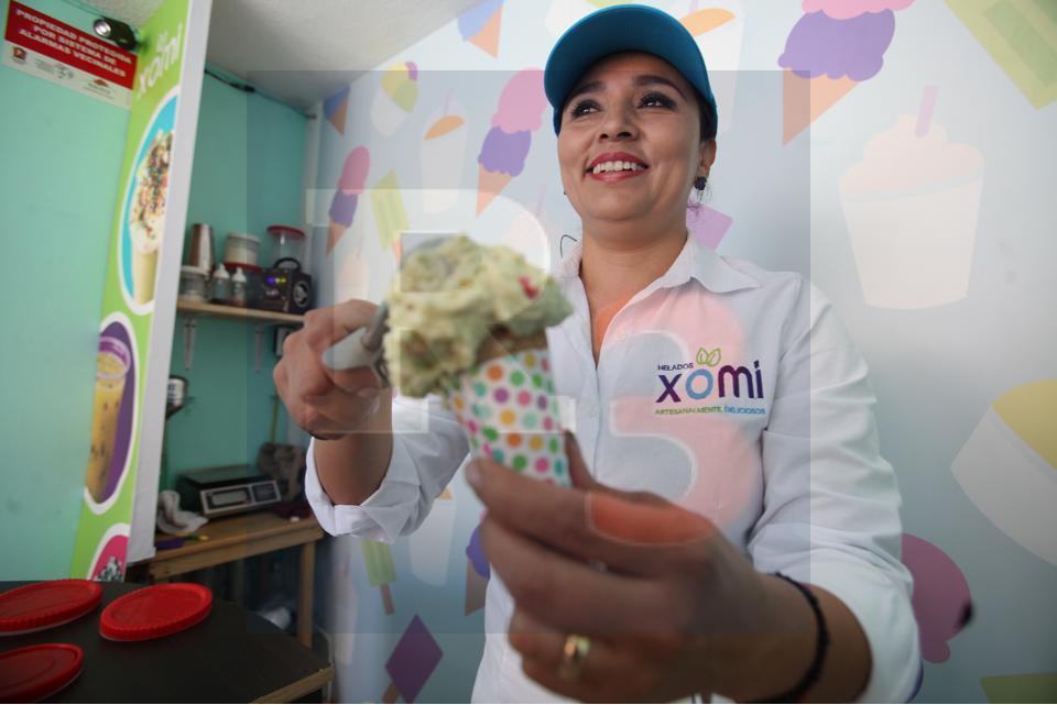 El Chile en Nogada, hasta en helado