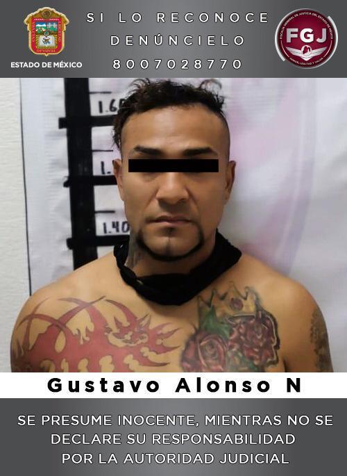 Detienen al líder de una banda delictiva dedicada al robo a transporte público en Ecatepec