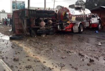 Colabora Edoméx con sct y policía federal en atención a accidente en la México-Toluca