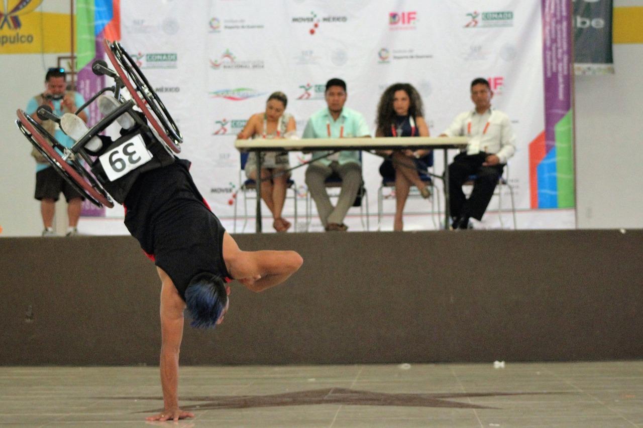 Conquista Jesús Yermain Fernández mundo de la paradanza deportiva