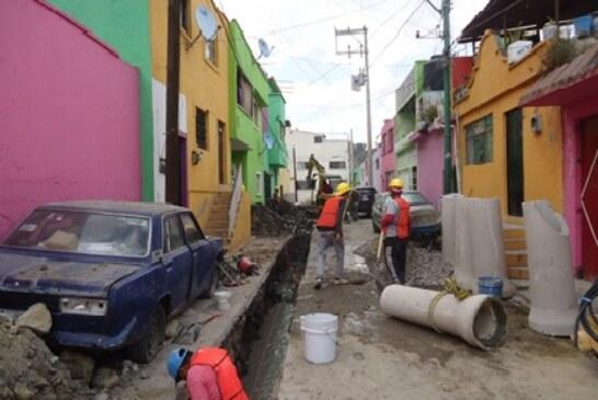 Entrega OAyST obras de alto impacto en materia de drenaje