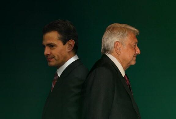 El pacto que se termina, EPN-AMLO; La negociación del Estado de México
