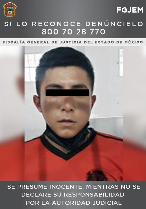 Cumplimenta FGJEM orden de aprehensión contra sujeto por un homicidio ocurrido en Ecatepec