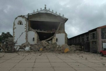 En Ocuilán 800 casas se vieron afectadas