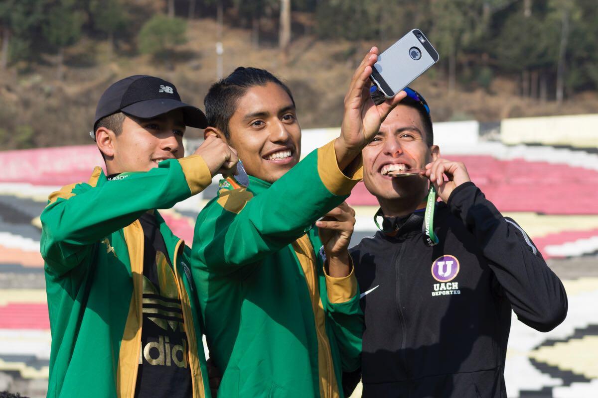 Atletismo de UAEM sumó ocho medallas en primer día de actividades de Universiada Nacional