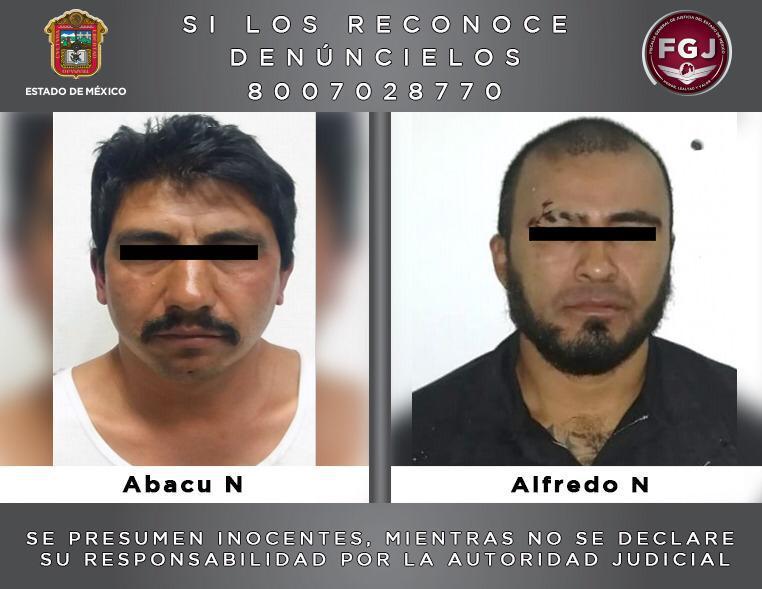 Detienen a dos sujetos investigados por un secuestro en Ixtapaluca