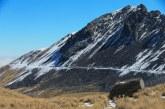 Continúa restringido el acceso al cráter del Xinantécatl ante posible caída de nieve o agua nieve
