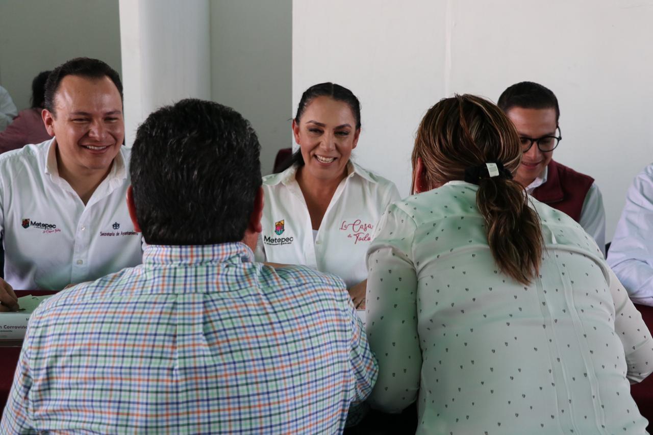 Cumple audiencias públicas de Metepec 50 sesiones